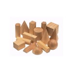 Hardwood Geometric Solids