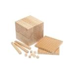 Wooden Base Ten Units