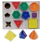 Folding 2D-3D Geometric Solids
